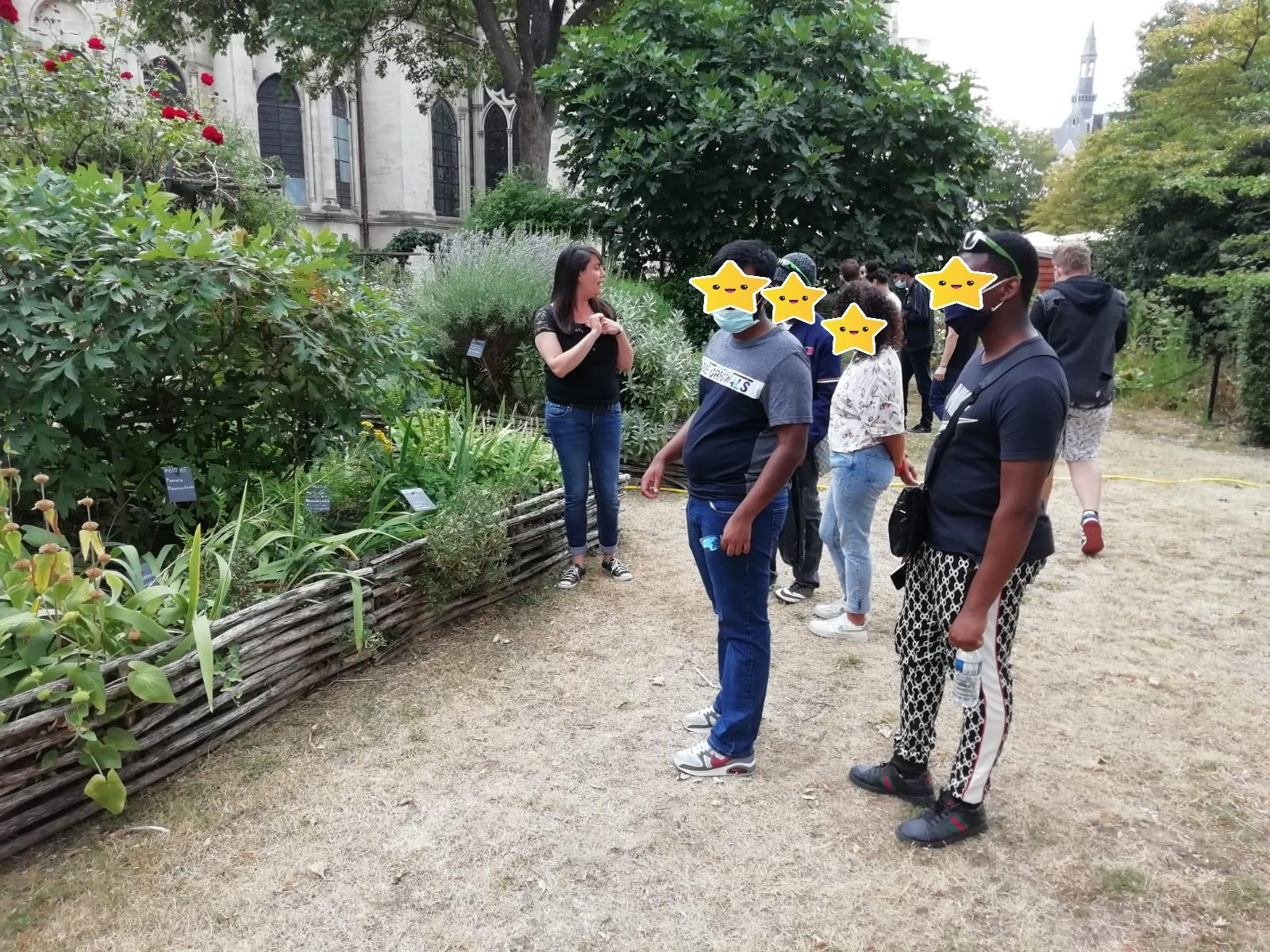 Association Aurore - Jardin médiéval