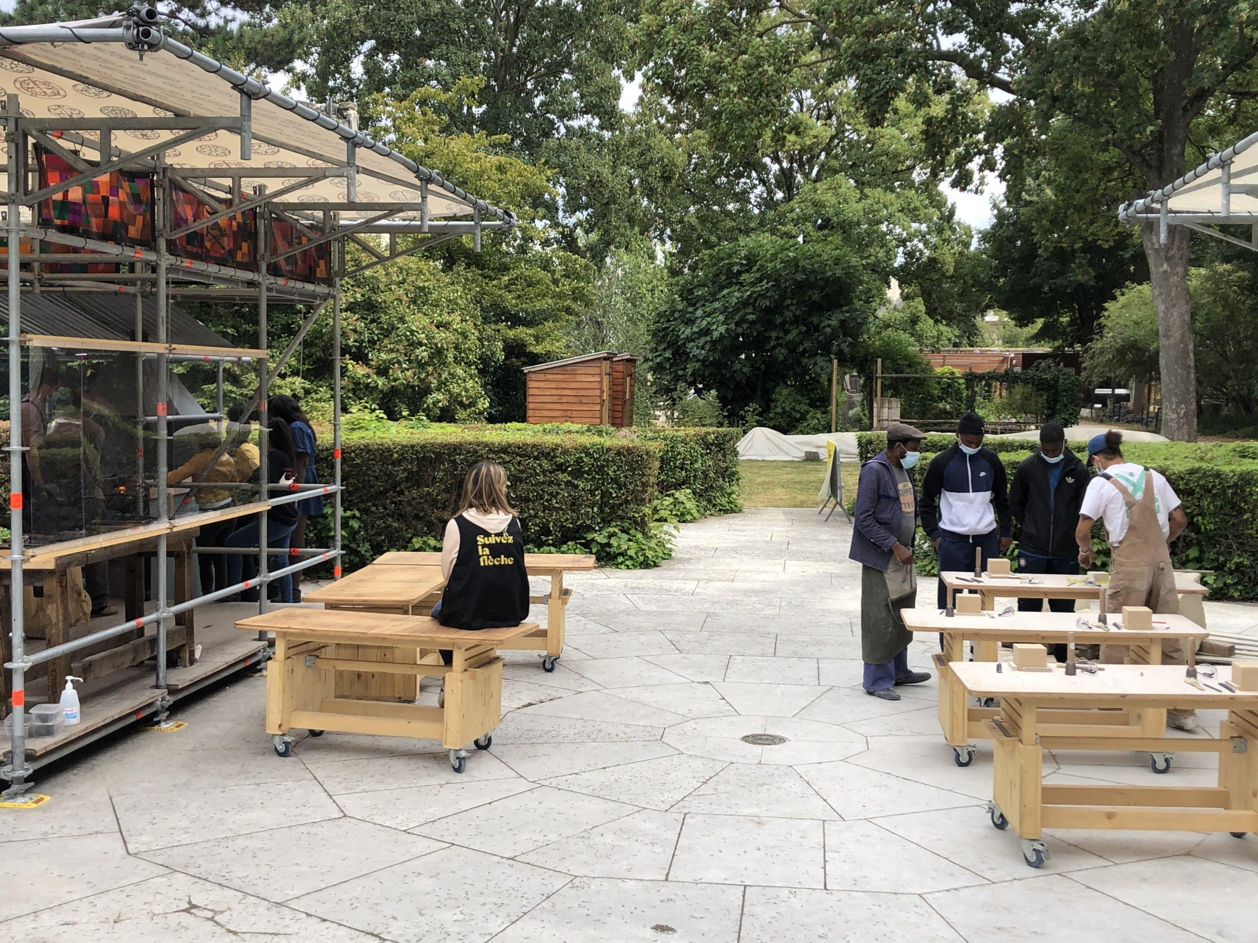 Association Joliot sans frontières - Atelier Flèche